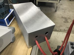 rewound mot for thermal evap