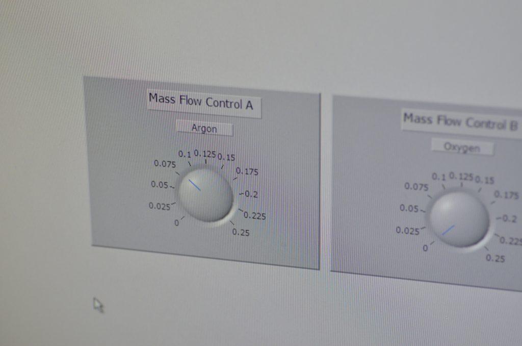 MFC Argon Control