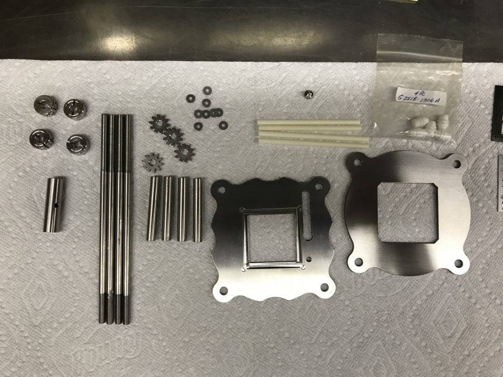 Inconel / Alumina parts